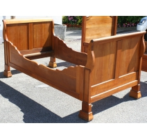 Bed frame in Empire cherry