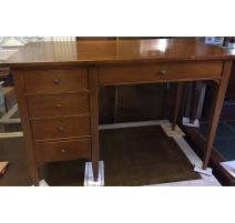 Bureau style Directoire à 4 tiroirs et