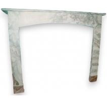 Камин стиль Правления мраморный пол
