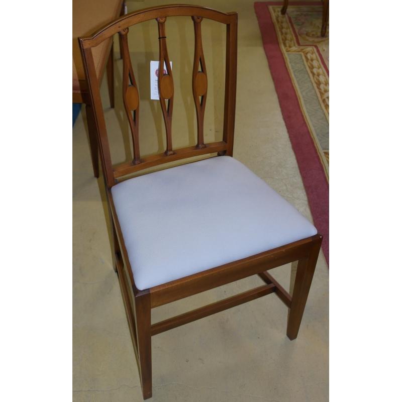 chaise barreaux style anglais sur moinat sa antiquit s d coration. Black Bedroom Furniture Sets. Home Design Ideas