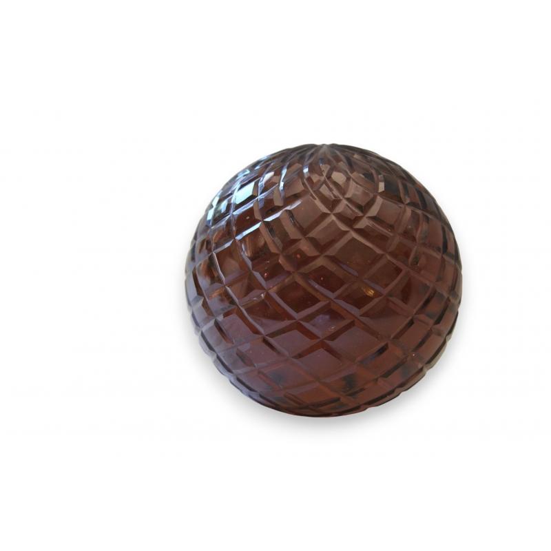 boule d corative diamond ambre sur moinat sa antiquit s d coration. Black Bedroom Furniture Sets. Home Design Ideas