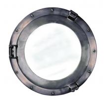 Miroir Hublot 38cm en aluminium