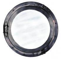 Miroir Hublot 51cm en aluminium