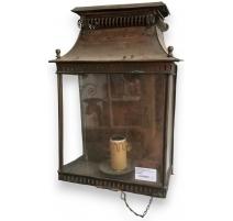 Lanterne applique en cuivre