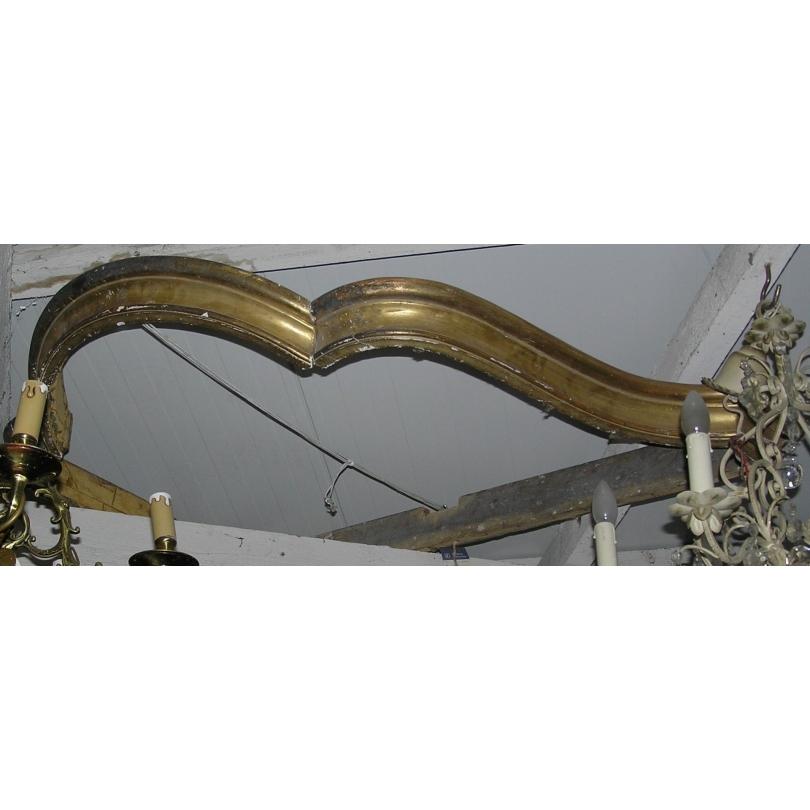 Ciel de lit ou baldaquin style Louis XV