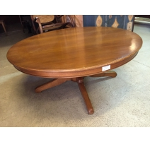 Table basse ronde style Louis-Philippe
