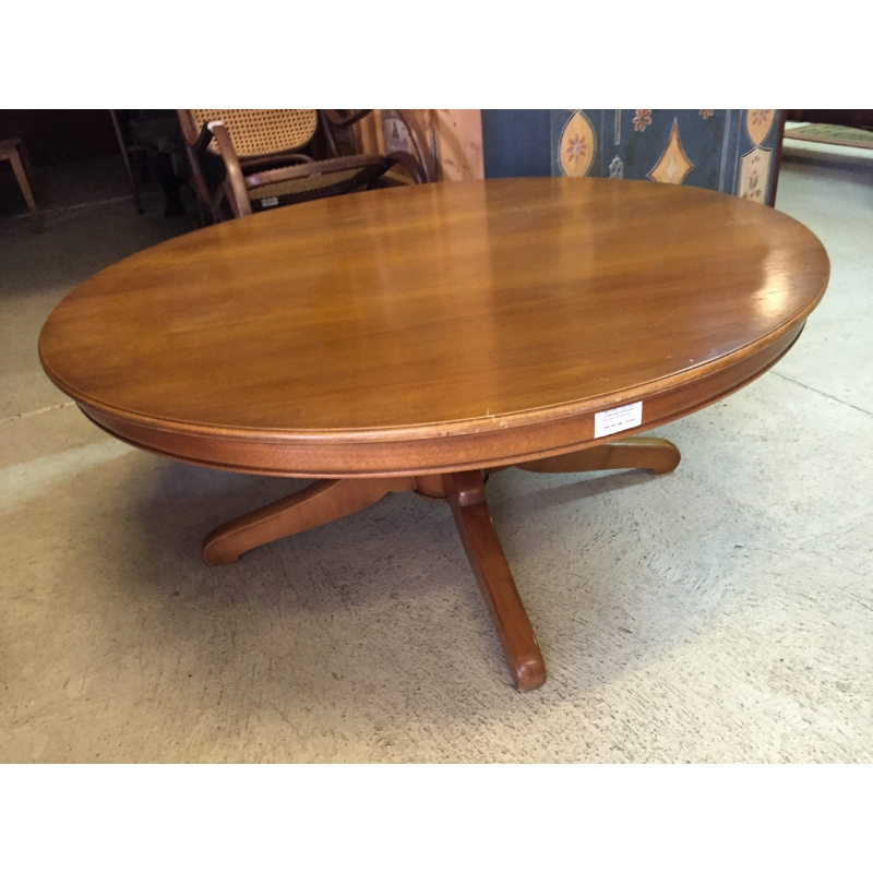 Table basse ronde style louis philippe sur moinat sa antiquit s d coration - Table style louis philippe ...