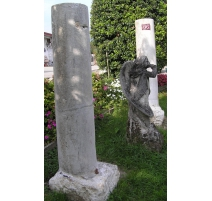 Pair of column stone of the Jura