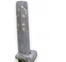 Paire de colonne en pierre du Jura