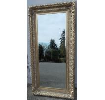 Miroir rectangulaire style Régence, en
