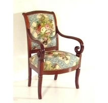 Pair of armchairs Louis-Philippe to butts.