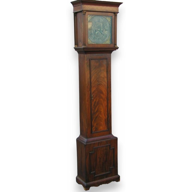 horloge de parquet par john fletcher sur moinat sa antiquit s d coration. Black Bedroom Furniture Sets. Home Design Ideas
