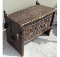 Safe Afghan carved wooden