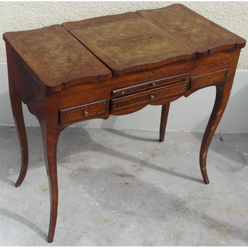 schminktisch louis xv holz einlegearbeiten moinat sa antiquit s d coration. Black Bedroom Furniture Sets. Home Design Ideas