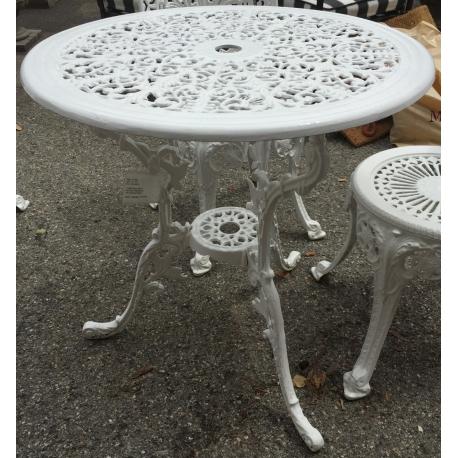 Table de jardin en fonte d\'aluminium sur Moinat SA - Antiquités ...