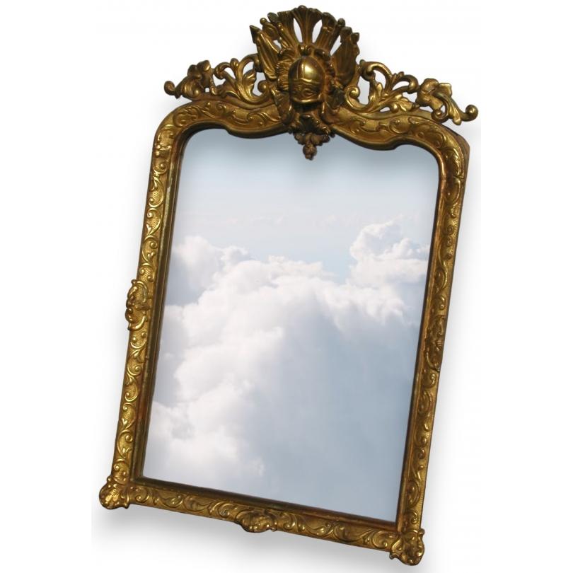Miroir casque Régence.