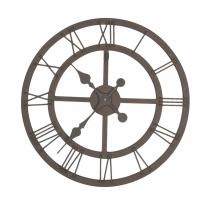 Horloge murale en fer forgé ajourée