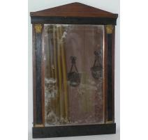 Miroir Directoire Biedermeier, en bois