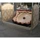 Кровать в стиле Людовика XVI, белый лак и золото, с