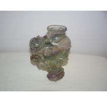 "Vase en fluorite ""Roses"""