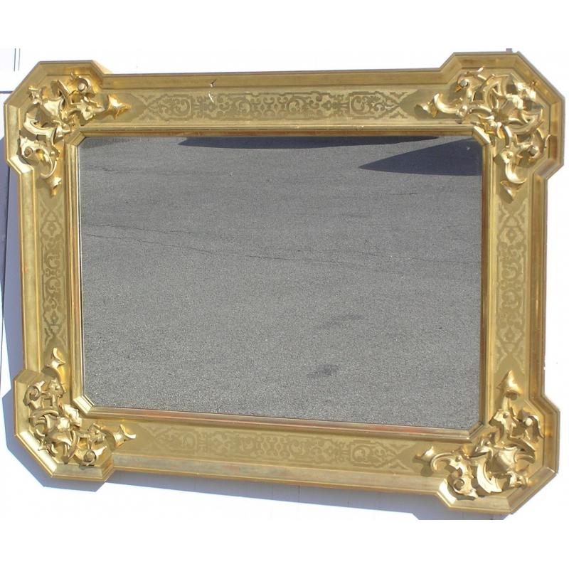 miroir baroque en bois dor italie sur moinat sa. Black Bedroom Furniture Sets. Home Design Ideas