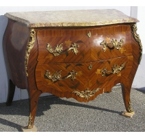 Louis XV Commode with 2 drawers,