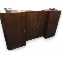 Buffet Art Deco, mahogany. With 4