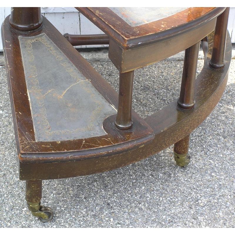 escalier de biblioth que en colima on sur moinat sa antiquit s d coration. Black Bedroom Furniture Sets. Home Design Ideas