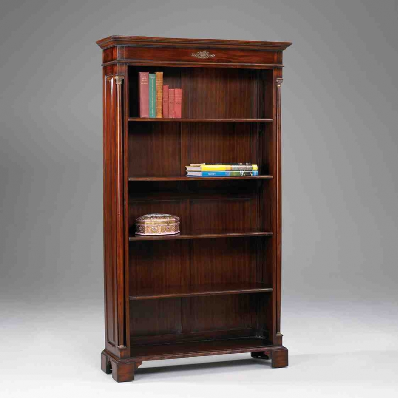 biblioth que ouverte style empire sur moinat sa. Black Bedroom Furniture Sets. Home Design Ideas