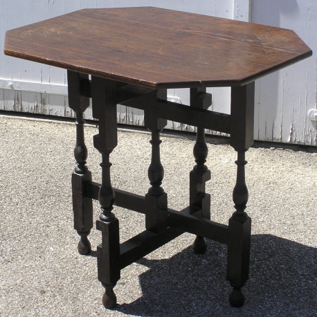 Mesa Plegable Estilo.Mesa Plegable De Louis Xiii De Estilo Moinat Sa Antiquites Decoration