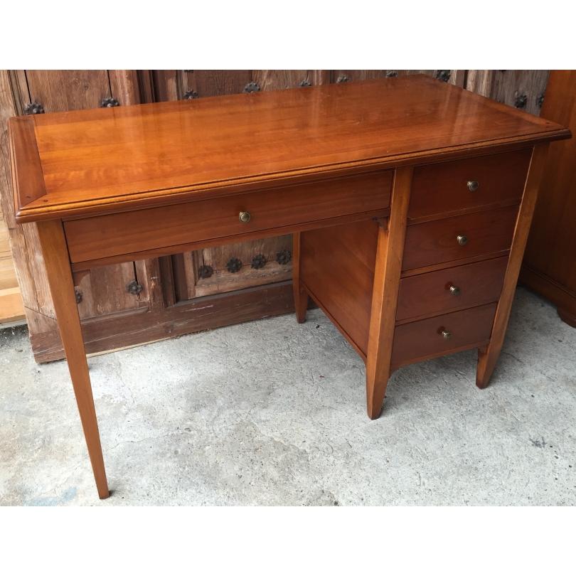Bureau style Directoire à 4 tiroirs