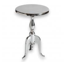 Ronda de mesa pedestal de aluminio