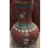Paire de vases en forme de boule, en