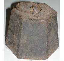 平衡重量、5公斤的铸铁。