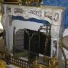 Cheminée Régence, en marbre blanc