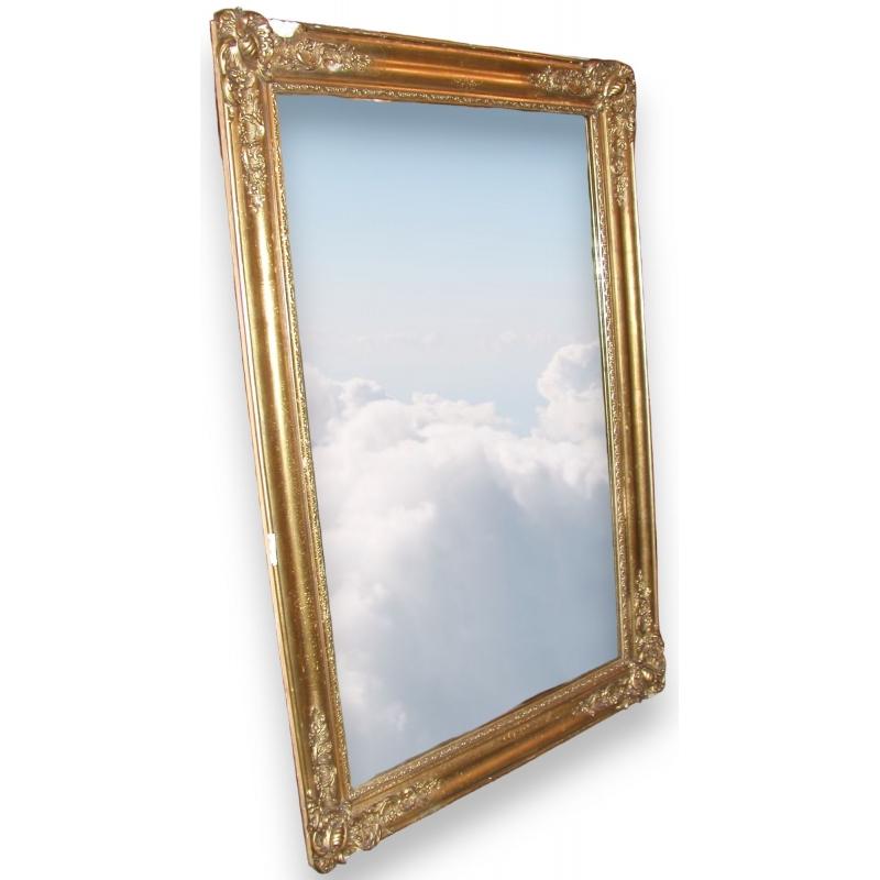 Miroir napol on iii rectangulaire dor sur moinat sa for Miroir napoleon