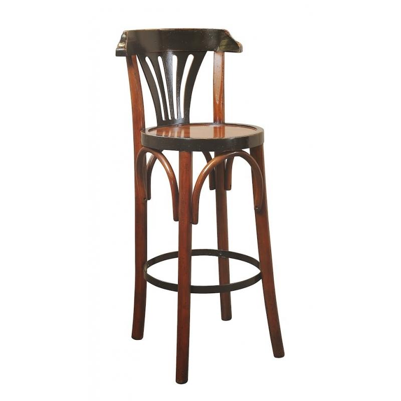 chaise de bar grand hotel noir sur moinat sa. Black Bedroom Furniture Sets. Home Design Ideas