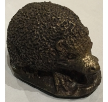 Hérisson en bronze