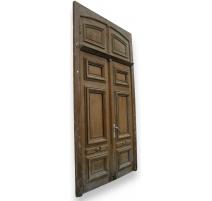 Double door.