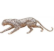 Bronze Guépard argenté