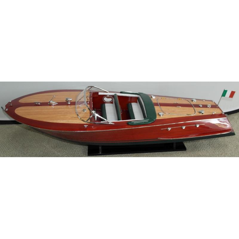 maquette de bateau riva ariston sur moinat sa antiquit s d coration. Black Bedroom Furniture Sets. Home Design Ideas
