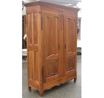 Armoire avec 2 portes et 1 tiroir.