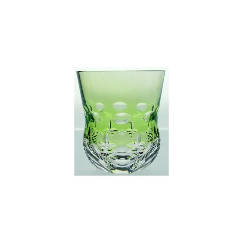 verre en cristal vert clair grav de sur moinat sa. Black Bedroom Furniture Sets. Home Design Ideas