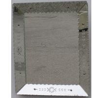 Miroir vénitien à facettes, en verre