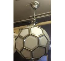 """Suspensions """"Ballon"""" en laiton et"""
