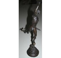 "Sculpture ""Mercure"", en bronze, sur"