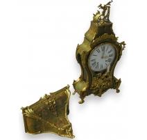 Louis XV Verni Martin clock wi