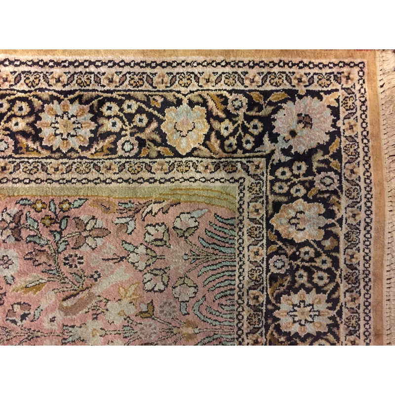 tapis d 39 orient en laine iran 20 me sur moinat sa antiquit s d coration. Black Bedroom Furniture Sets. Home Design Ideas
