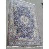Tapis persan, en laine avec soie. Iran.
