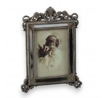 Marco de fotos en la edad espejo, amplio